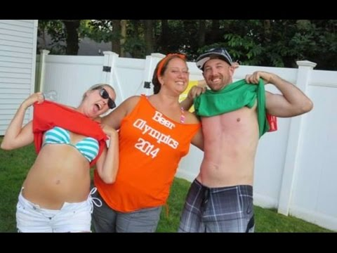 Beer Olympics 2014 Drinking Games for the Jersey Shore Summer Fun