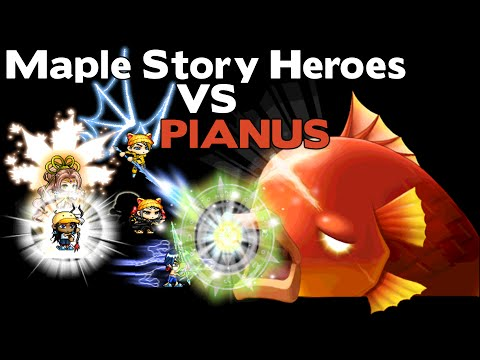 Maple Story Heroes vs Pianus [ dray86 ]