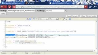 PHP Tutorials_ Show Recent Twitter Tweets using cURL