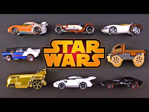 Hot Wheels Star Wars Character Cars for Kids - Street Vehicles Cars Trucks for Children & Toddlers