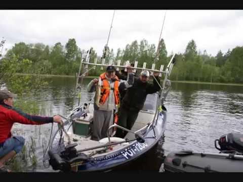 на лодках по шхерам