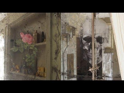 Античное зеркало Biago Dino Италия.СОСТАРЕННЫЕ ЗЕРКАЛА ИТАЛИЯ В УКРАИНЕ.  old Italian mirror.