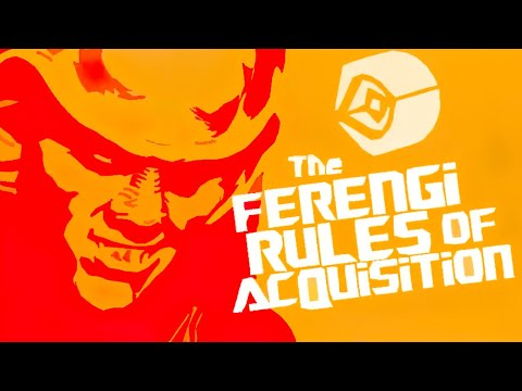 Ferengi Rules of Acquisition [Full List*]