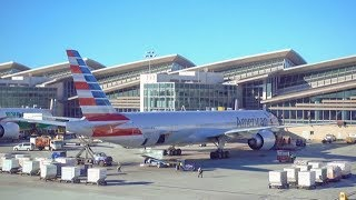 American Airlines Boeing 777-300ER / Los Angeles to Miami / 4K Video