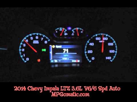2014 Chevy Impala V6 0-60 MPH
