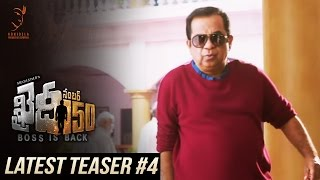 Khaidi No 150 Latest Teaser #4 || Mega Star Chiranjeevi || V V Vinayak || DSP