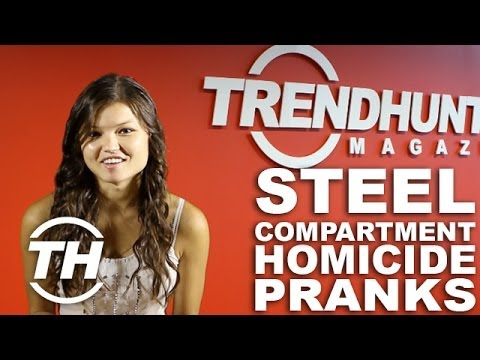 Steel Compartment Homicide Pranks: Trend Hunter s Nicole Talks About an Elevator Murder Experiment