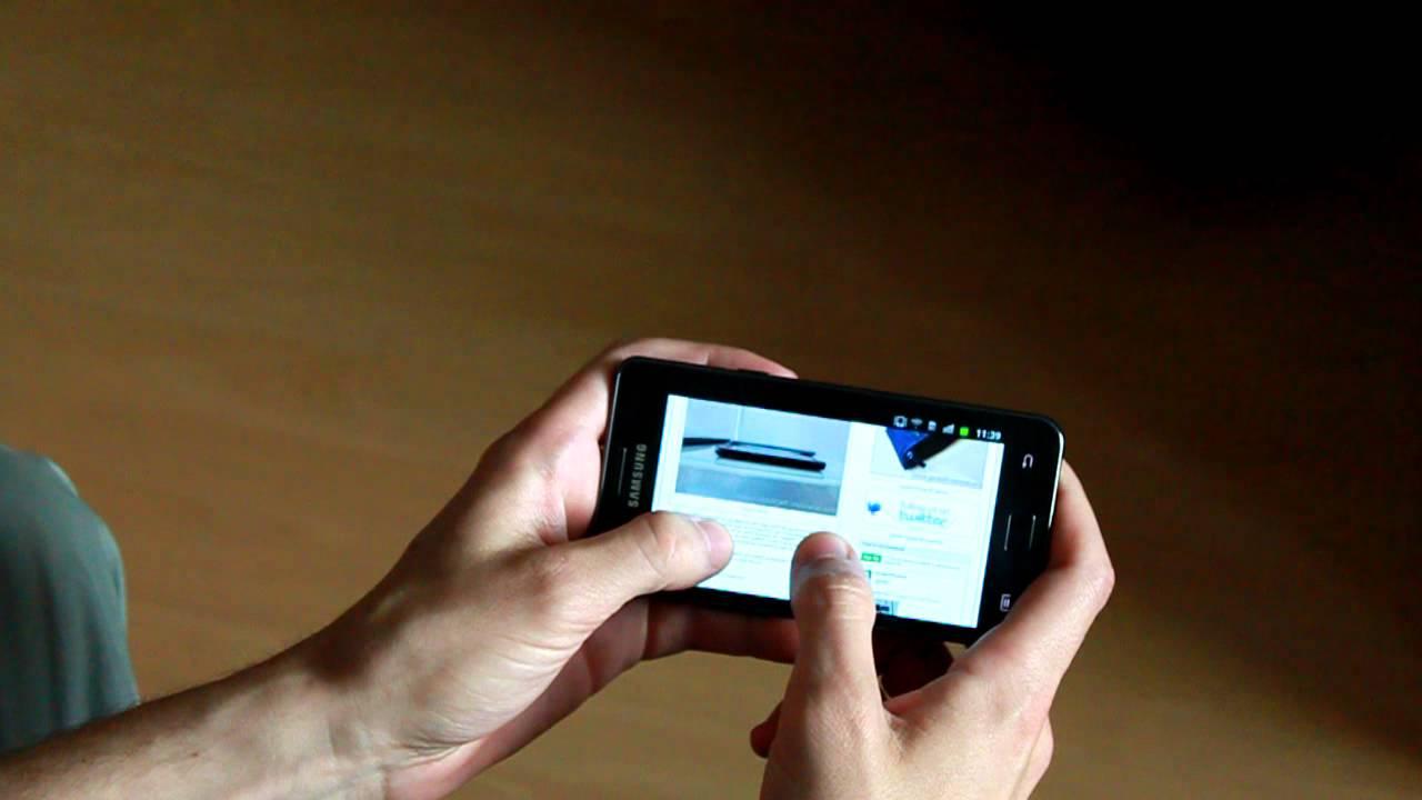 Tilt Zoom Galaxy Samsung Galaxy s2 Tilt-to-zoom