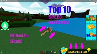 Top 10 Speed Glitches in Build a Boat!!!