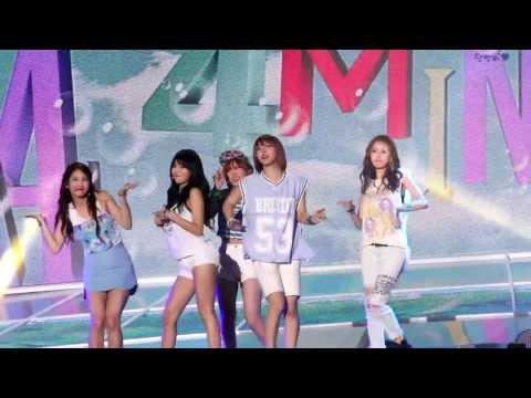130810 속초 쇼음악중심(Show Music Core)4Minute(포미닛)_이름이 뭐예요?+물 좋아?