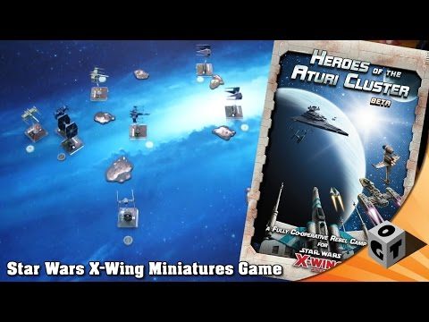 X-Wing COOP - Heroes of the Aturi Cluster im Test