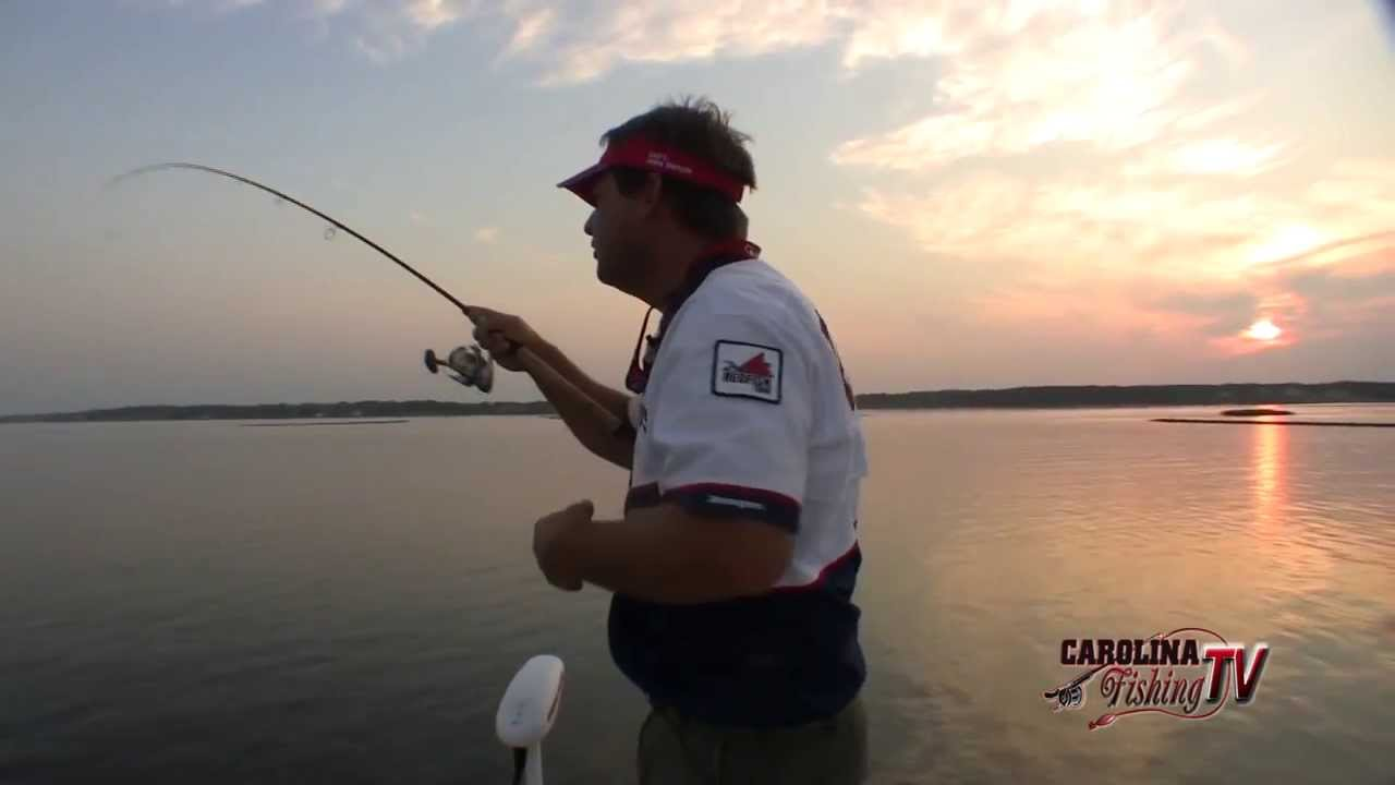 Carolina fishing tv season 2 15 swansboro redfish for Fishing report swansboro nc