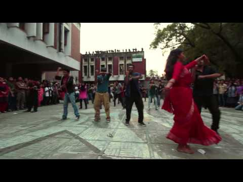 Icc T20 World Cup 2014 Theme Song Mob Performance At Buet Cafeteria video