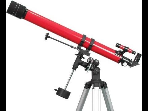 Best Beginner Telescope Reviews: Carson Red Planet 50 100x90mm Refractor Telescope