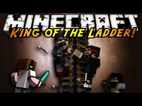 Minecraft Mini-Game : KING OF THE LADDER!