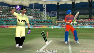 WCC2 best flippers to bowled the batsmen | how to take bowled wicket with spin bowling