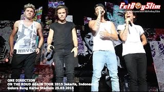 One Direction Video - 1D ONE DIRECTION - BEST SONG EVER (Climax) live in Jakarta, Indonesia 2015