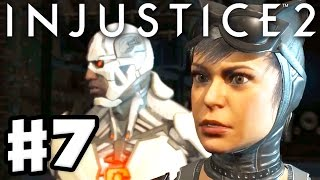 Injustice 2 - Gameplay Part 7 - Cyborg & Catwoman! Chapter 7: Breaking and Entering! (Story Mode)