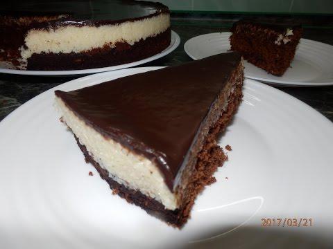 БРАУНИ ТОРТ /  Coconut Brownies