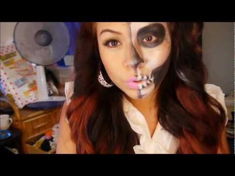 maquillaje halloween pirata con glameyez com