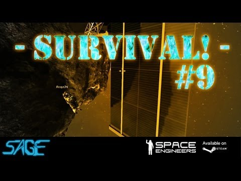 Space Engineers, Joint Survival #9 (Solar power!)