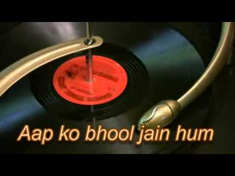 Aap ko bhool jain hum Re-composed by Haider Bazmi