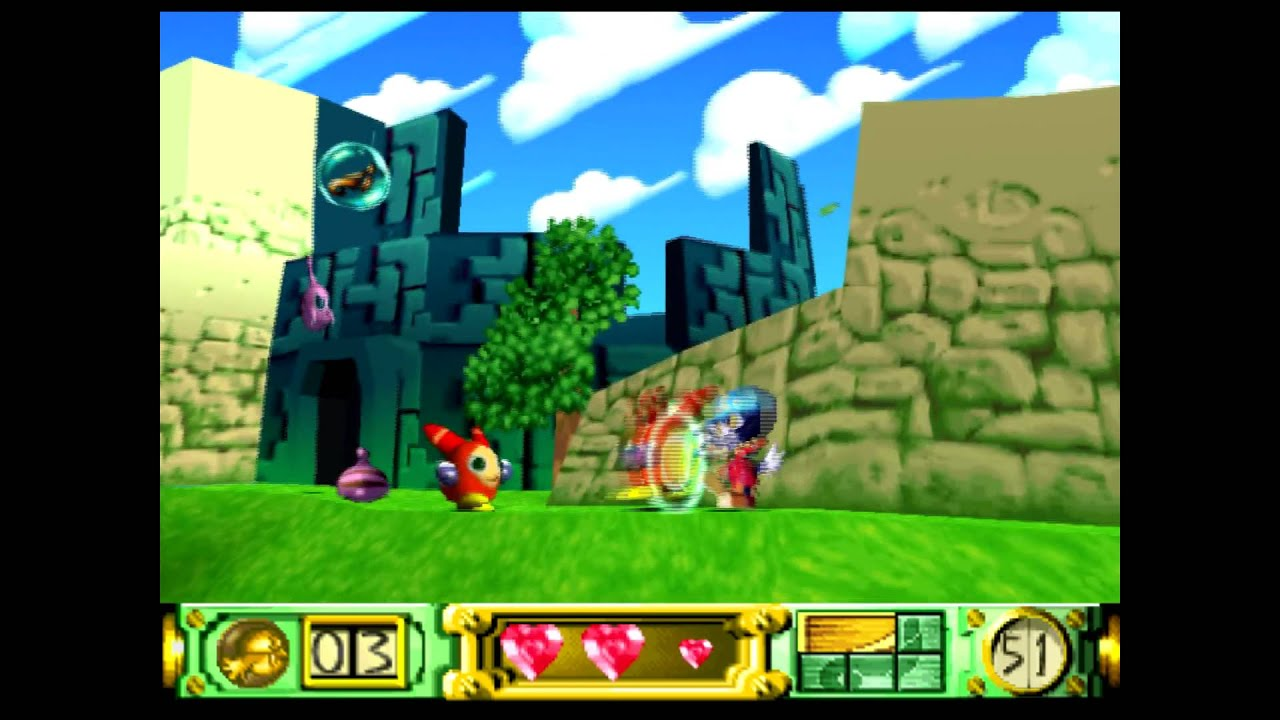 Klonoa Door To Phantomile Playstation 1 Walkthrough