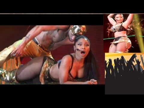 نيكي ميناج  أناكوندا | Nicki Minaj | Anaconda live à | paris super thumbnail