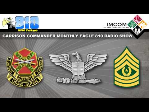 U.S. Army Garrison Japan Commander Monthly Radio Show Sept. 2015