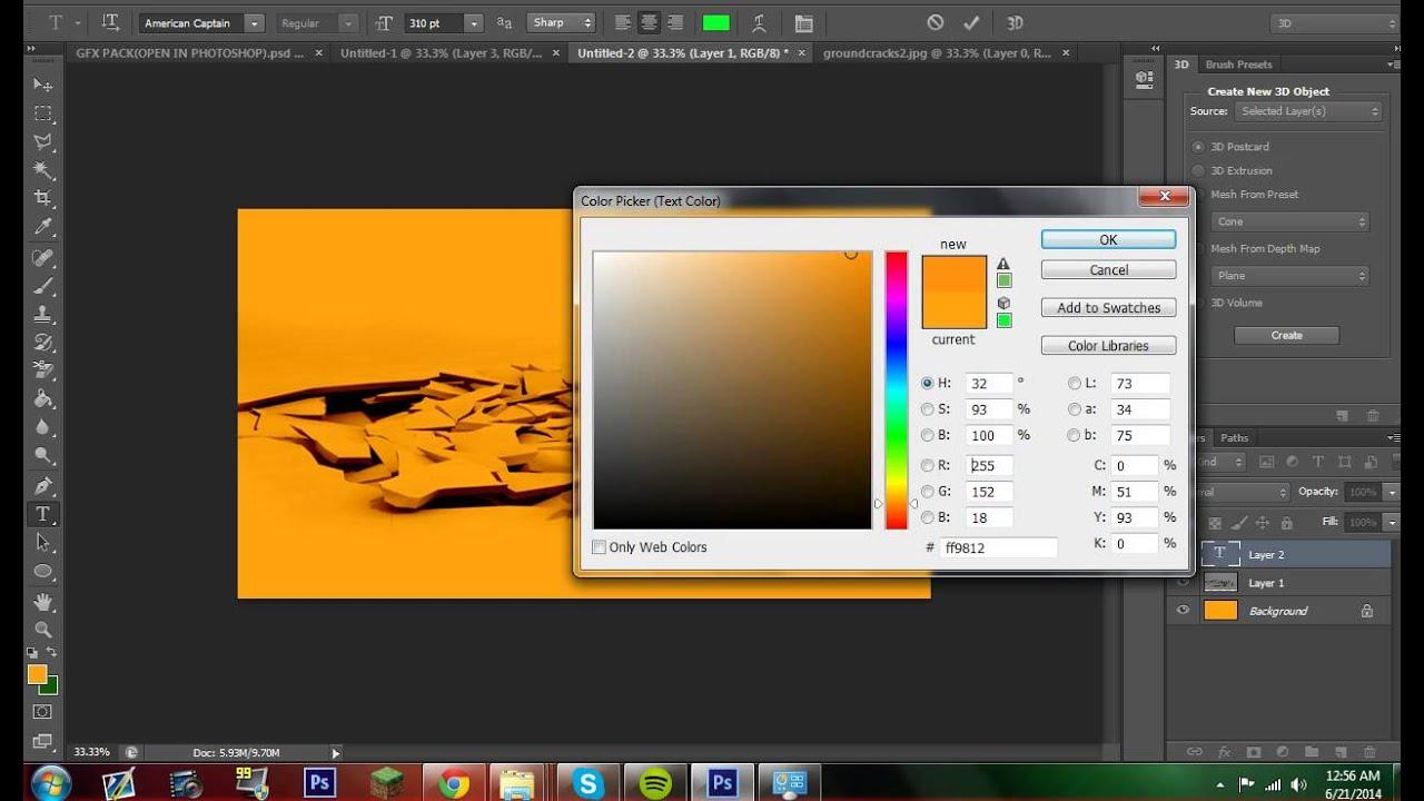 Ground Photoshop Tutorial Photoshop Cs6 Tutorial Gfx