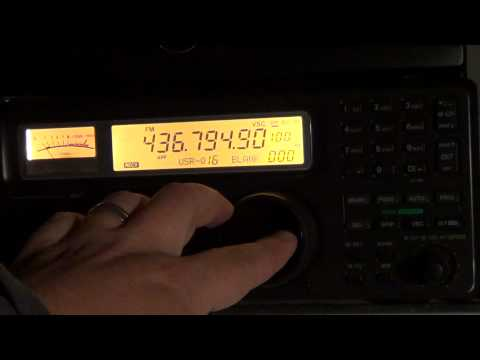 Amateur Radio satellite SO-50 FM Repeater