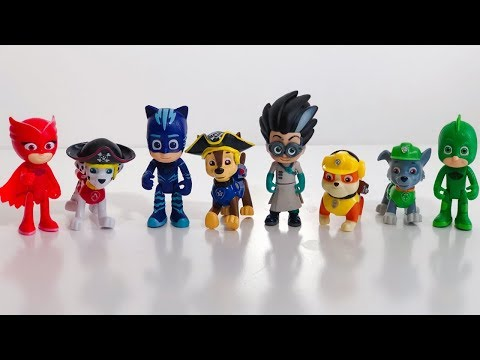 Learn Colors With Pj Masks Wrong Heads - Pj Masks Wrong Heads For Learning Colors