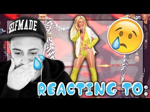 (gråter!!!) REACTING TO: Britney Spears VMA 2016