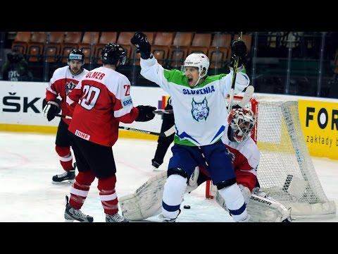 Austria vs. Slovenia - 2016 IIHF Ice Hockey World Championship Division I Group A