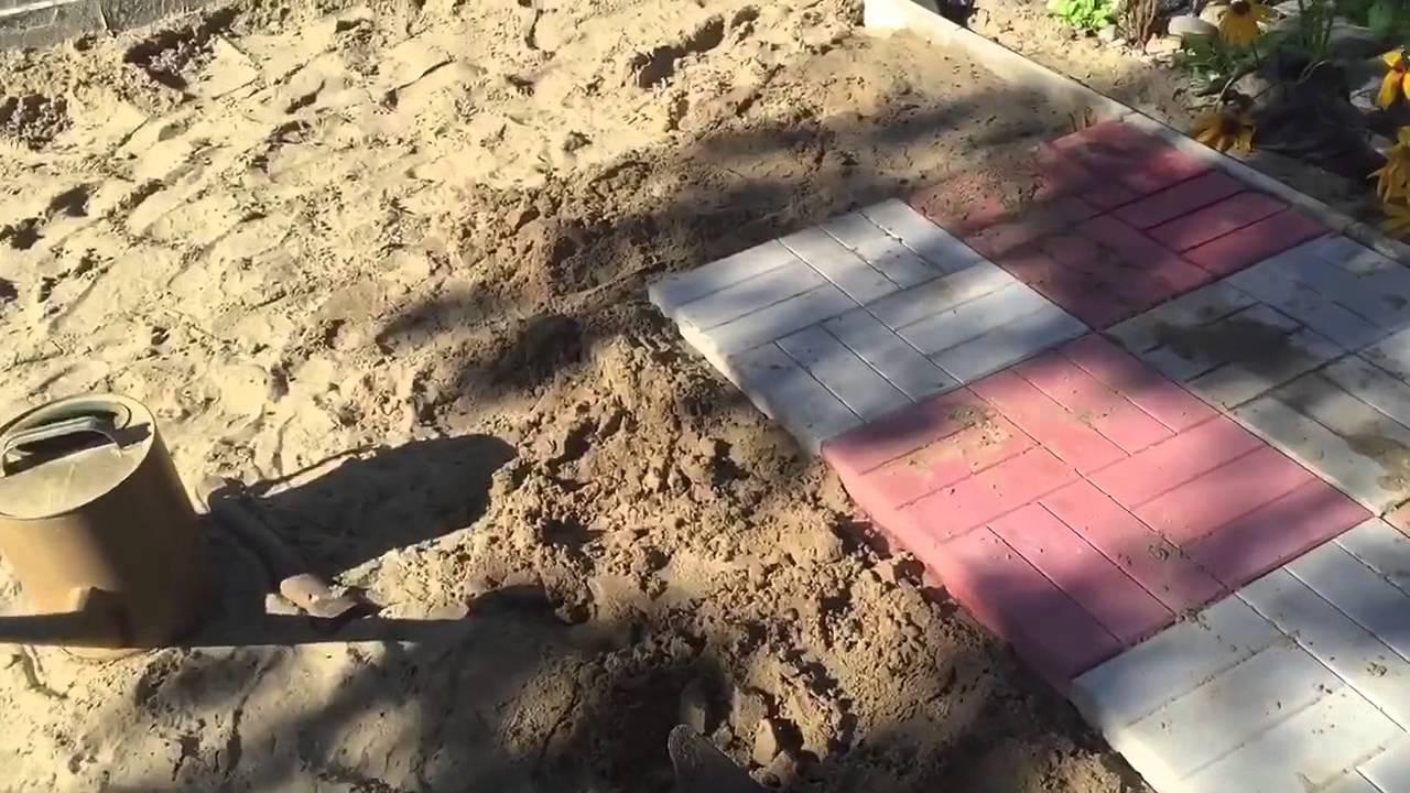 Тротуарная плитка своими руками ютуб 879