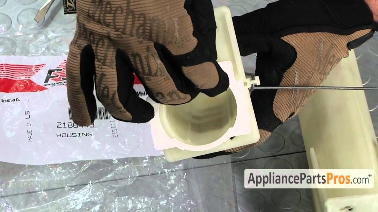 Refrigerator Water Filter Housing Part 2186443 How To