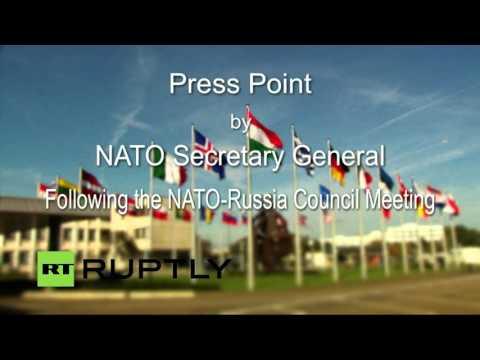 Live: NATO Secretary General press conference after NATO-Russia Council at ambassadorial level