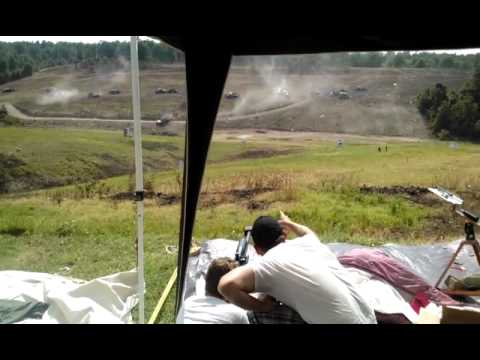 Firing the Armorlite .50 BMG
