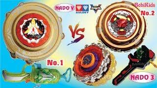 INFINITY NADO 5 - Nado V ❤️ Đại BOSS No.1 Vs Đại BOSS No.2 Vs Bộ Đôi Chiến Thần Hộ Pháp Cao Cấp