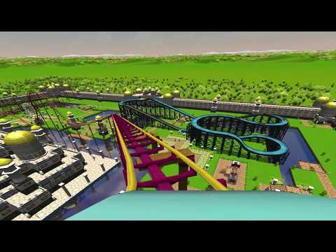 Rollercoaster Tycoon 3 - Gameplay HD (1080p)
