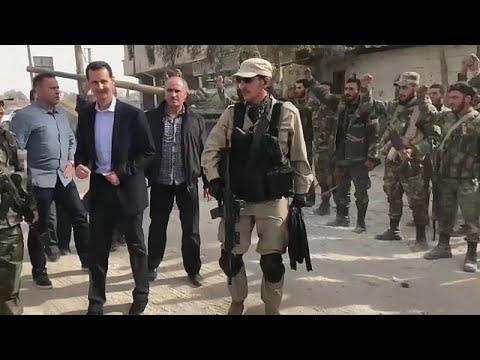 Асад в Восточной Гуте