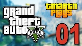 Grand Theft Auto 5 - Part 1 - Bank Robbery (Let's Play / Walkthrough / Guide)