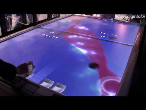 Sega Heat Up Hockey : Next-Generation Air Hockey - AOU2010 : DigInfo