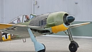 Original Fw-190A-5 -  BMW-801 - Only Flying Original in the world