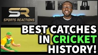 The Best Catches In Cricket History Of All Time REACTION || SPORTS REACTIONS