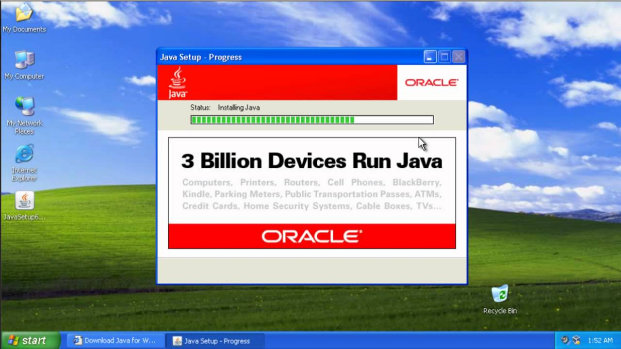 java machine for windows
