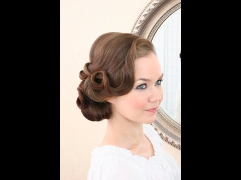 Bridal Hairstyling Video Vintage Side Do YouTube