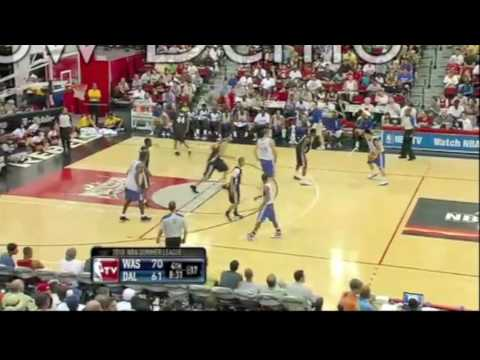 Jeremy Lin vs John Wall NBA Summer League Mavs vs Wizards Highlights