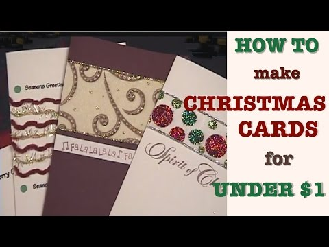 Easy and Simple Christmas Cards