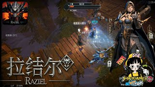 Raziel - Action RPG Diablo Style (Android) Gameplay